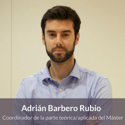 Adrián Barbero. Docente en Máster en Terapias Contextuales
