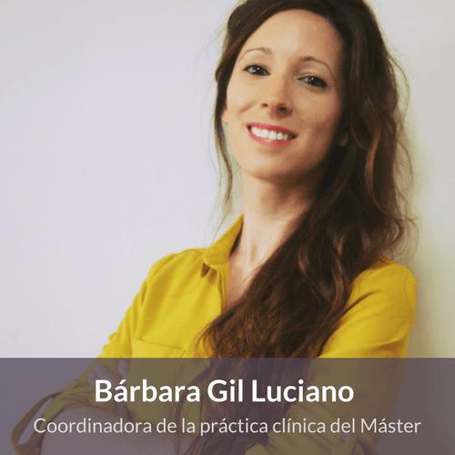 Máster Terapias contextuales - Bárbara Gil Luciano -