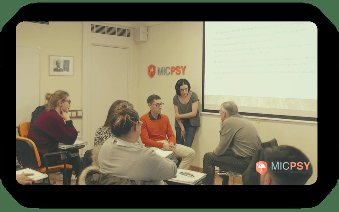 Transcurso de la edición 2017/2018 de Máster en Terapias Contextuales