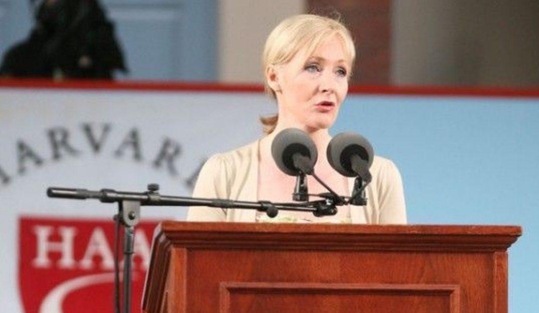 El poder del fracaso y la imaginación, JK Rowling en Harvard University